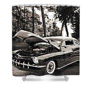 1951 Mercury Classic Car Photograph 006.01 Shower Curtain