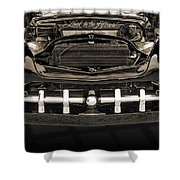 1951 Mercury Classic Car Photograph 009.01 Shower Curtain
