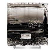 1951 Mercury Classic Car Photograph 018.01 Shower Curtain
