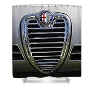 1962 Alfa Romeo Grille Shower Curtain