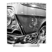 1962 Chevrolet Belair Bubbletop Shower Curtain