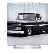 1962 Chevrolet Shortbed Pickup I Shower Curtain