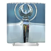 1962 Chrysler Imperial Hood Ornament Shower Curtain