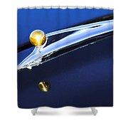 1962 Ford Galaxie Hood Ornament Shower Curtain