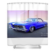 1963 Buick Riviera Shower Curtain