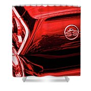1963 Chevrolet Impala Ss Red Shower Curtain