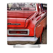 1963 Dodge 426 Ramcharger Max Wedge Shower Curtain by Gordon Dean II