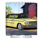 1963 Ford Galaxie 500 Xl Convertible Shower Curtain