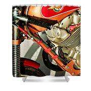 1964 Ducati 250cc F3 Corsa Motorcycle -2727c Shower Curtain
