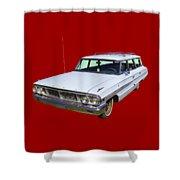 1964 Ford Galaxy Country Sedan Stationwagon Shower Curtain