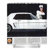 1964 Ford Mustang Muscle Shower Curtain