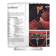 1964 Ford Mustang-06-07 Shower Curtain