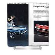 1964 Ford Mustang-08-09 Shower Curtain