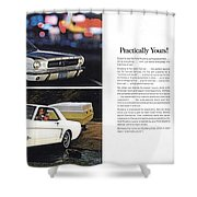 1964 Ford Mustang-10-11 Shower Curtain