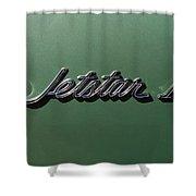 1964 Oldsmobile Jetstar Emblem Shower Curtain