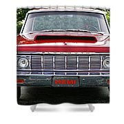 1964 Plymouth Savoy Hemi  Shower Curtain