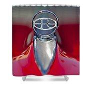 1965 Buick Riviera Hood Ornament Shower Curtain