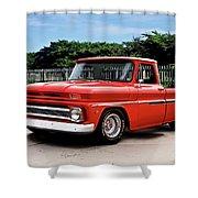 1965 Chevrolet 3100 Pickup I Shower Curtain