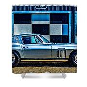 1965 Corvette Fuelie Shower Curtain