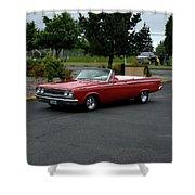 1965 Dodge Coronet 500 Higgins Shower Curtain