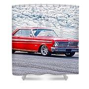 1965 Ford Falcon Sprint 289 Shower Curtain