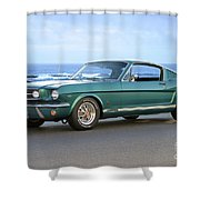 1965 Ford Mustang Fastback II Shower Curtain
