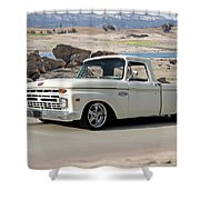 1965 Ford 'twin I Beam' Pickup Shower Curtain