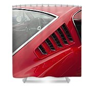 1965 Mustang Fastback Shower Curtain