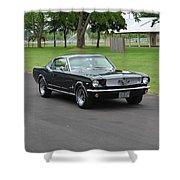 1965 Mustang Fastback Kearney Shower Curtain