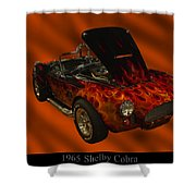 1965 Shelby Cobra Shower Curtain