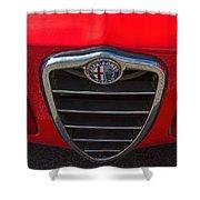 1966 Alfa Romeo Emblem Shower Curtain