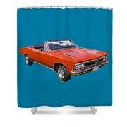 1966 Chevrolet Chevelle Convertible 283  Shower Curtain