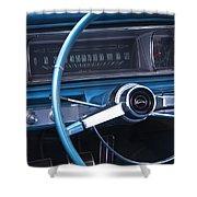 1966 Chevrolet Impala Dash Shower Curtain