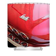 1966 Corvette Stingray Shower Curtain