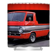 1966 Dodge A100 Pickup Shower Curtain