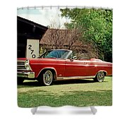 1966 Ford Fairlane 500 Convertible Shower Curtain