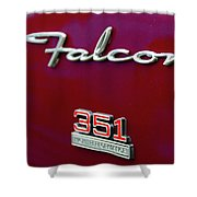 1966 Ford Falcon Shower Curtain
