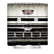 1966 Ford Pickup Truck Grille Emblem -0154ac Shower Curtain