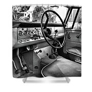 1966 International Scout Driver's Side B Shower Curtain
