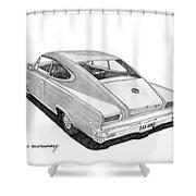 1966 Marlin By Nash Shower Curtain