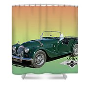 1966 Morgan 4 Plus 4 Shower Curtain