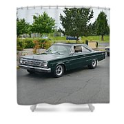 1966 Plymouth Belvedere Rapp Shower Curtain
