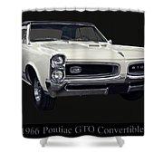 1966 Pontiac Gto Convertible Shower Curtain