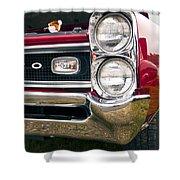 1966 Pontiac Gto Grill Shower Curtain