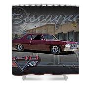1967 Biscayne Shower Curtain