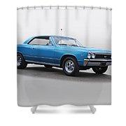 1967 Chevelle Super Sport Ss396 Shower Curtain