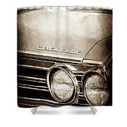 1967 Chevrolet Chevelle Ss Super Sport Emblem -0413s Shower Curtain