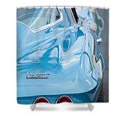 1967 Chevrolet Corvette 11 Shower Curtain
