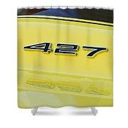 1967 Chevrolet Corvette Sport Coupe Emblem Shower Curtain