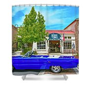 1967 Dodge R/t Shower Curtain